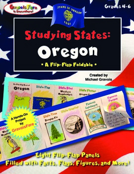 Studying States: Oregon—A Flip-Flap Foldable Filled with F