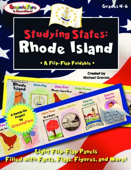 Studying States: Rhode Island—A Flip-Flap Foldable Filled