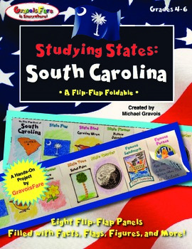 Studying States: South Carolina—A Flip-Flap Foldable Fille