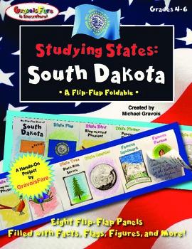Studying States: South Dakota—A Flip-Flap Foldable Filled
