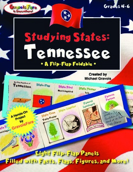 Studying States: Tennessee—A Flip-Flap Foldable Filled wit