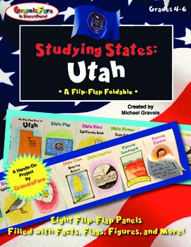 Studying States: Utah—A Flip-Flap Foldable Filled with Facts, Flags, & More!