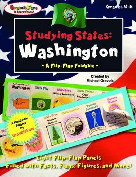 Studying States: Washington—A Flip-Flap Foldable Filled wi