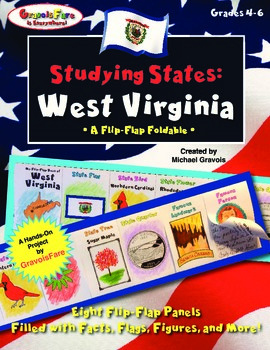 Studying States: West Virginia—A Flip-Flap Foldable Filled with Facts!