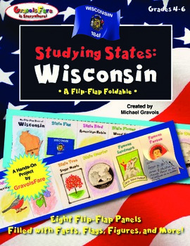 Studying States: Wisconsin—A Flip-Flap Foldable Filled wit