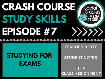 Studying for Exams: Crash Course Study Skills  Ep 7