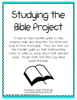 Studying the Bible Guided Project
