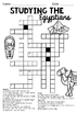 Studying the Egyptians - Crossword Puzzle