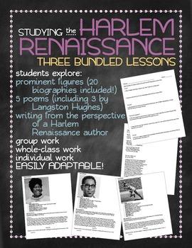 Studying the Harlem Renaissance