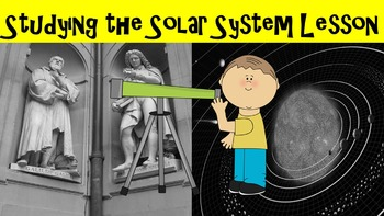 Studying the Solar System No Prep Lesson w/ Power Point, Worksheet, and Activity