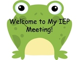 Stuent Led IEP Frogs
