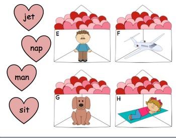 Stuff the Envelope! A Valentine's CVC Center