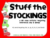 Stuff the Stockings: A Christmas QR Code activity for inferencing & s-blends