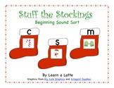 Stuff the Stockings (Christmas Beginning Sound Sort)