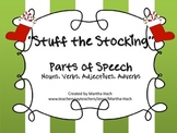 """Stuff the Stockings"" Holiday Parts of Speech game"