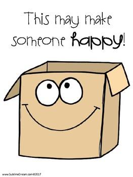 Stuff the box - building social skills through a sorting activity