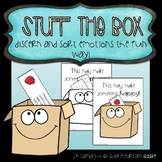 Stuff the box - building social skills through a sorting activity