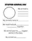 Stuffed Animal Day