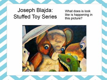 Stuffed Animals in Art PPT:  Still Life, Sculpture, Installations, Photography