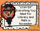 """Stuffed"" Everything You Need for Literacy and Math in November"