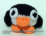 Stuffed Penguin with Activities in All Domains