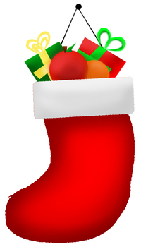 Stuffed Stocking [with fruit]
