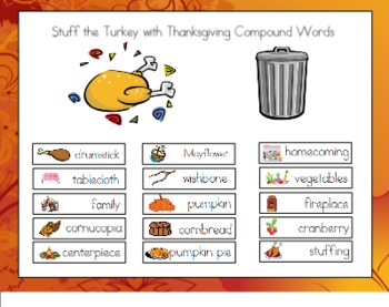 Stuffing the Turkey with Compound Words for the Smart Board