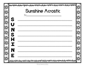 Adjectives Summer Edition
