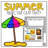 Summer Adjective Activity