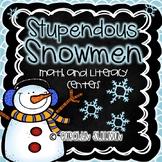 Stupendous Snowmen - Common Core Standards Included