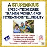 Stupendous Exercises For Increasing Speaking Intelligibility- Apraxia/Dysarthria