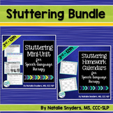 Stuttering Bundle for Speech Language Therapy