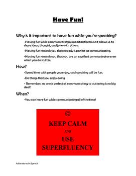 Stuttering Emergency Survival Guide-NO PREP