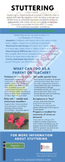 Stuttering Fast Fact Sheet