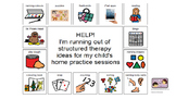 Stuttering Handout for Parents- Boardmaker
