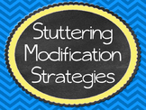 Stuttering Modification Stratgies and Fluency Enhancing Strategies Posters