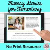 Stuttering Passages Elementary No Print Digital Speech