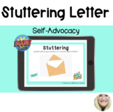 Stuttering - Self-Advocacy Letter/Email for Boom Cards™