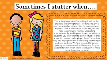 Stuttering Situations