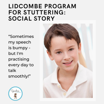 """Stuttering Social Story: """"Sometimes my speech is bumpy – but I'm practising!"""""""