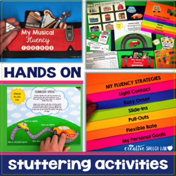Stuttering Solutions: Fluency Flipbook & Finger Puppet Therapy Pack