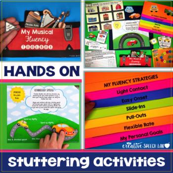 Stuttering Solutions: Fluency Flipbook & Finger Puppet The
