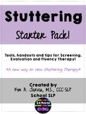 Stuttering Starter Pack