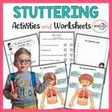 Stuttering Activities; Worksheets for Stuttering Therapy