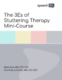 Stuttering (Fluency) Therapy Mini Course for All Ages