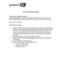 Stuttering (Fluency) Iceberg Activity