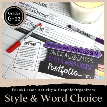 Style & Word Choice: Focus Lesson for ANY Novel