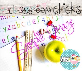 Styled ABC's Desk Image_167:Hi Res Images for Bloggers & Teacherpreneurs