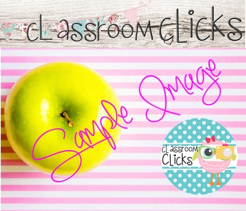 Styled Apple Pink Stripes Image_164:Hi Res Images for Bloggers & Teacherpreneurs