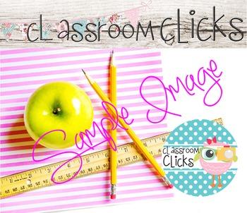 Styled Apple Pink Stripes Image_168:Hi Res Images for Bloggers & Teacherpreneurs